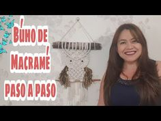 How to make macrame owl wall hanging step-by-step DIY tutorial - part of 2 - Free Online Videos Best Movies TV shows - Faceclips Macrame Owl, Micro Macrame, Macrame Tutorial, Diy Tutorial, Half Hitch Knot, Macrame Projects, How To Make, Beautiful Pictures, Angel
