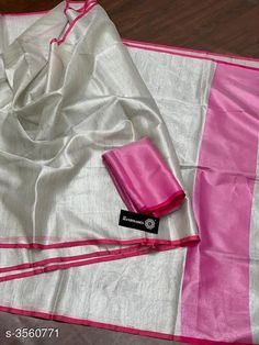 Checkout this latest Sarees Product Name: *New Trendy Tissue Silk Sarees* Saree Fabric: Tissue Blouse: Separate Blouse Piece Blouse Fabric: Tissue Multipack: Single Sizes:  Free Size Country of Origin: India Easy Returns Available In Case Of Any Issue   Catalog Rating: ★4.1 (6827)  Catalog Name: Kashvi Solid Tissue Sarees CatalogID_496400 C74-SC1004 Code: 635-3560771-6831