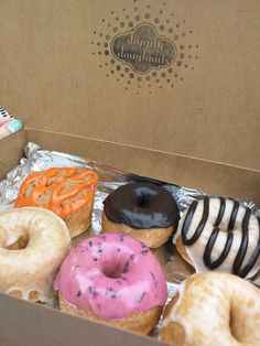 Diggity Doughnuts, Charleston, SC - Vegan doughnuts to die for! Went here for the first time a couple of weeks ago. If you're ever in Charleston, EAT HERE!