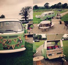 Vintage VW campervan photobooth