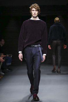 Salvatore Ferragamo Fashion Show Menswear Collection Fall Winter 2017 in Milan