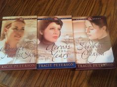 Desert Roses Series #s 1-3 by Tracie Peterson (BX)