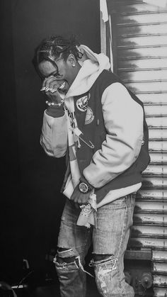 Black And White Picture Wall, Black And White Pictures, Lord Pretty Flacko, Rapper, Mode Hip Hop, Travis Scott Wallpapers, Ace Hood, Rap Wallpaper, Photocollage
