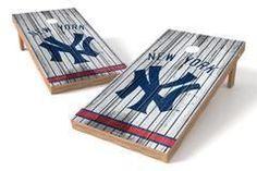 New York Yankees Single Cornhole Board - Vintage