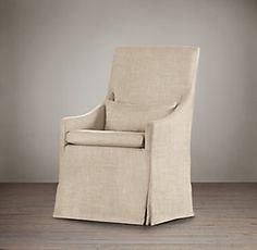 Belgian Slope Dining Chair   Restoration Hardware