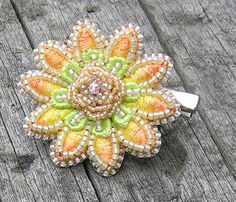 Hey, I found this really awesome Etsy listing at https://www.etsy.com/au/listing/206736349/yellow-tropical-flower-clip-boho-hair