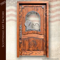 Custom Doors   Carved Wood Front Entry Doors   Fishing Theme ...
