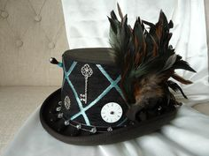 Steampunk Top Hat - The Ratty Tat Checkmate