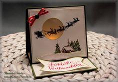 Stampin' Up Magische Weihnachten-Fröhliche Weihnachten-Stampin Up Weihnachtskarte