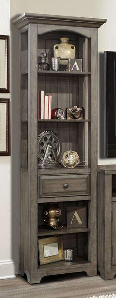 Lowest price on Parker House Austin Earl Grey Bookcase Pier (Pair) AUS#250P. Shop today!
