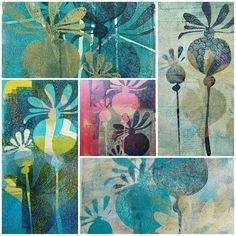 Gelli print. No link, just picture