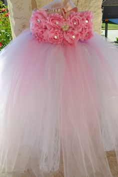 First Birthday Dress pink and purple by TutusweetsBoutique, $55.00