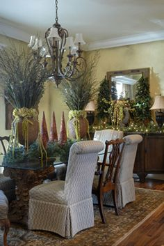 A Natural Combination | At Home in Arkansas - Holiday Decorating Ideas