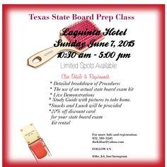 Texas Cosmetology State Board Exam Prep