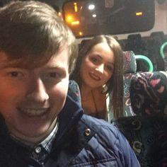 #cousins #party #christmas #bus #selfie