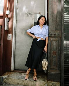 J.Crew: Beverly Nguyen People Shopping, Girls Shopping, J Crew Looks, Preppy Clothing Brands, Preppy Outfits, Summer Essentials, Summer Wardrobe, Capsule Wardrobe, Cashmere Sweaters