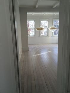 View into living room