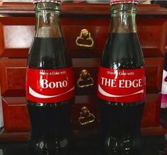 I'd share a coke any day Adam Clayton, U2 Music, Music Bands, Great Bands, Cool Bands, The Edge U2, U2 Live, Achtung Baby, Paul Hewson
