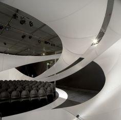 zaha's chamber music hall in manchester