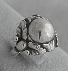 Georg Jensen and Wendel A/S sterling ring by CINDYSCOLLECTIBLES, $400.00