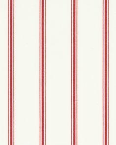 Kensley Rouge Roller Blind Print #amandaforblinds #red #stripes