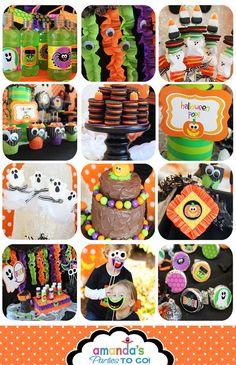 Halloween Birthday Party Printable Birthday by AmandasPartiesToGo