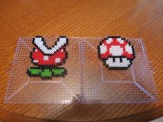 DIY Super Mario Perler bead crafts