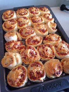 Pizza pinwheel scones