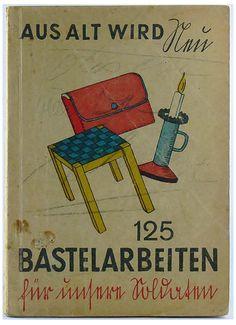 """Königsberg i. Pr. - """"Das Haus der Bücher"""" GRÄFE UND UNZER, """"Wir haben übrigens in der Asche von Gräfe und Unzer ein nur wenig angesengtes Buch gefunden mit dem Titel: 'Aus alt wird neu.' Es ist ein Witz!"""". - Das wird das Motto für den Neuanfang in Bayern"""