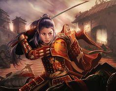 Shiba Iaimiko - Adam Schumpert, L5R, Phoenix Clan