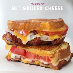 20 of the Best Grilled Cheese Sandwich Recipes 20 of the best grilled cheese recipes, there is something for everyone! Best Grilled Cheese, Grilled Cheese Recipes, Bacon Recipes, Griddle Recipes, Bacon Grilled Cheeses, Bacon Bacon, Tofu Recipes, Lunch Recipes, Drink Recipes