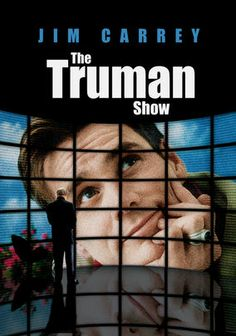 """Truman Burbank is the star of """"The Truman Show,"""" a 24-hour-a-day TV phenomenon that broadcasts every aspect of his life without his knowledge. When Truman discovers that his life is a sham for public consumption, he makes a desperate escape bid."""