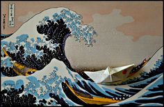Hokusai...rivisited  Tafter,photo contest