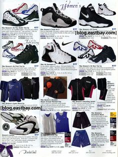 41748d7f75e Women s Basketball 1998  Eastbay Basketball Shoes