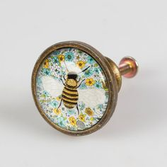 Bumble Bee door knob by Vintagebellecandles on Etsy