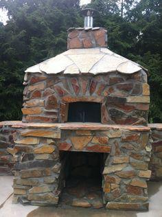 Outdoor pizza oven!!  We love it so fun!!