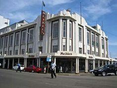 Salisbury Rhodesia. Meikles Hotel. The Meikles Long Bar was in here.