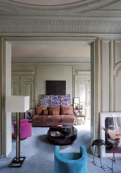 Appartement Paris du designer photographe Willy Rizzo - CôtéMaison.fr