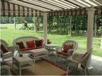 Window Awnings Retractable Patio Canvas Sydney
