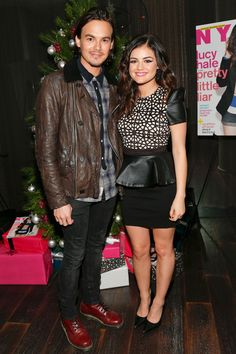 : Photo Lucy Hale poses with her pal Zelda Williams at a celebration of her Nylon magazine cover spread on Friday (December at the Andaz Hotel in Los Angeles. Lucy Hale Photos, Zelda Williams, Steve O, Tyler Blackburn, Chris Pine, Kourtney Kardashian, West Hollywood, Pretty Little Liars, American Actors