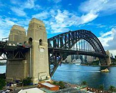 I guess Sydney isn't all that bad.  Sydney Harbour Bridge - Sydney, Australia  #sydney #australia #gopro #goprooftheday #goprohero4 #goprohero5 #wanderlust #travel #travelgram #landscape #skyporn #whataview #home by jinchigo. goprooftheday #travelgram #wh