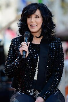 """Cher appears on the """"Today"""" show at Rockefeller Plaza in New York City on Sept. 23, 2013"""