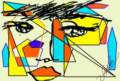 #Colores #Mujer #Art