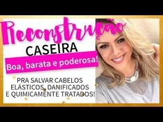 Cauterização Caseira: Recupere Seu Cabelo Já! - Juro Valendo Spa Day, Rapunzel, Manicure, Hair Beauty, Youtube, Face, How To Make, 1, Best Hair