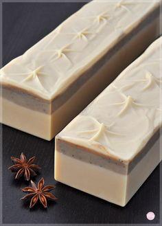 Kokosmilch-Heilerde-Seife Candy Cream, 100g auf DaWanda
