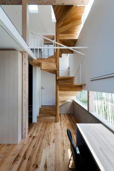 .: 藤田大海建築設計事務所が手掛けた北欧玄関/廊下/階段です。