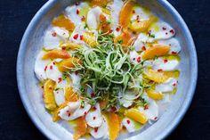 Ceviche av torsk eller skrei med appelsiner – Aichas Mat