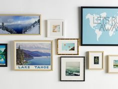 The Easiest Way to Get a Great-Looking Gallery Wall (We've Got It!) >> http://blog.hgtv.com/design/2015/05/13/gallery-wall-ideas-art-framing-service/?soc=pinterest