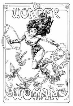 Fashion and Action: Art Nouveau Meets Wonder Woman Gallery.