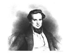 """""""Portrait of Victor Hugo, 1829"""" by Eugene Deveria."""
